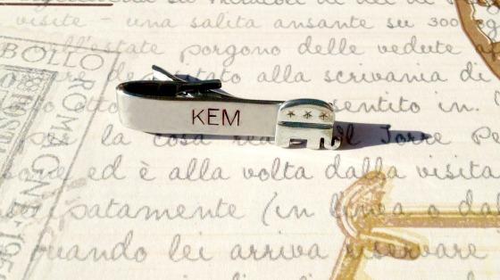 KEM Tie Clip 1