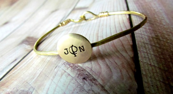 JPN Brass Bangle 1